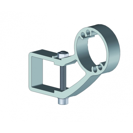 Support enroulement aluminium pour store banne monobloc