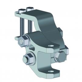 Support de bras en aluminium laqué