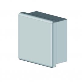 Bouchon plastique pour tube carré 40 mm
