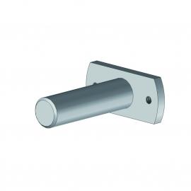 Plaque + axe pour tube enrouleur