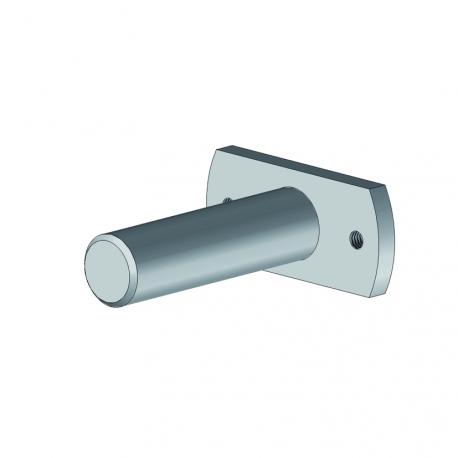 Plaque + axe tube enrouleur pour store coffre et traditionnel