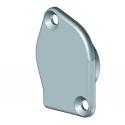 Embout barre de charge en aluminium