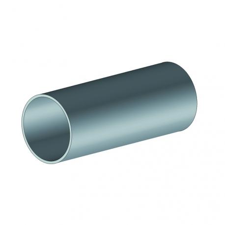 Profil Ø30 mm lisse pour raccordement barre de charge - store à projection