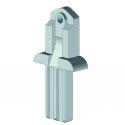 Embout corbeille base profil de 55 mm sans oreille