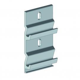 Semelle de fixation coffre Carcassonne aluminium largeur 96 mm