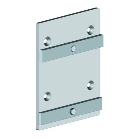 Embout poutre latérale - pergola aluminium