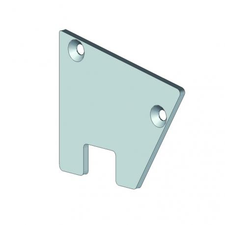 Embout gouttière intérieure - pergola aluminium