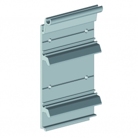 Semelle de fixation aluminium largeur 105 mm