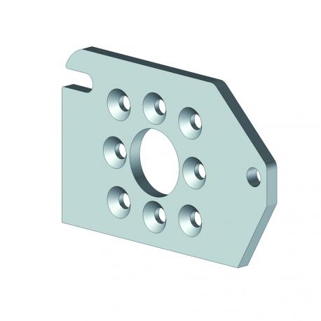 Support tube d'enroulement - Pergola aluminium Cros