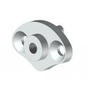 Embout barre de charge aluminium