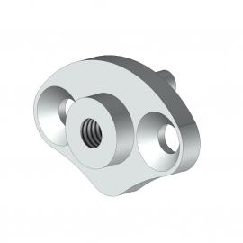 Embout barre de charge en aluminium - Store à l'italienne