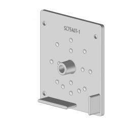 Joue carré avec axe pour screen façade / plafond