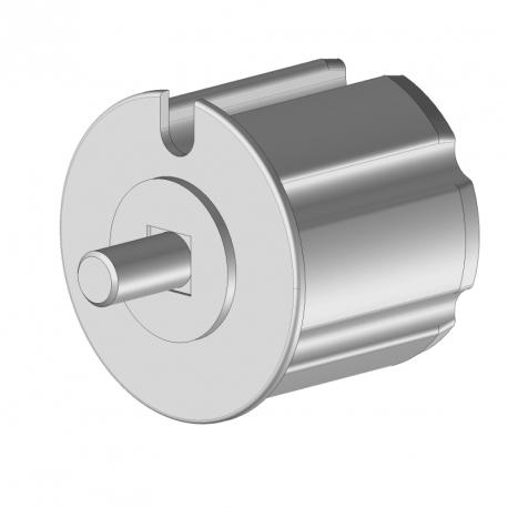 Tourillon pvc axe de Ø12 mm pour tube Ø70
