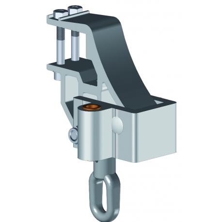Support de bras variateur pour store banne monobloc