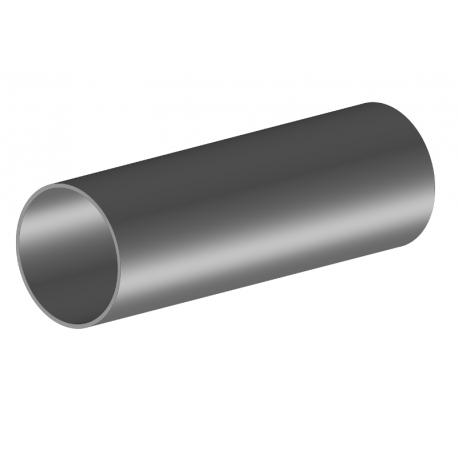 Tube acier galvanisé Ø50 mm lisse ép. 1,5 mm