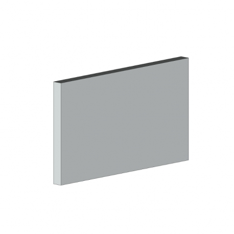 Profil plat de renfort store corbeille 5880 mm