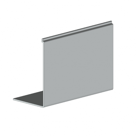 Auvent de protection screen 75 façade / plafond - 5880 mm