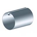Tube d'enroulement galvanisé Ø78 ép. 1,25 mm - 5880 mm