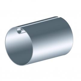 Tube d'enroulement galvanisé Ø78 pour store banne