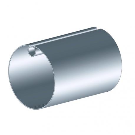 Tube d'enroulement galvanisé Ø78 ép. 1,25 mm