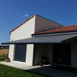 Store banne coffre Oleron - Store de terrasse, Pergola bioclimatique Cros - tcva.fr