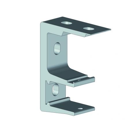 Support façade / plafond pour store banne monobloc